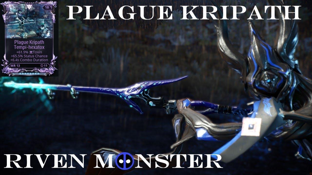 Plague Kripath - Warframe Riven Monster - YouTube