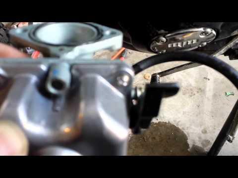 Apollo 250cc PZ30 Carb - YouTube