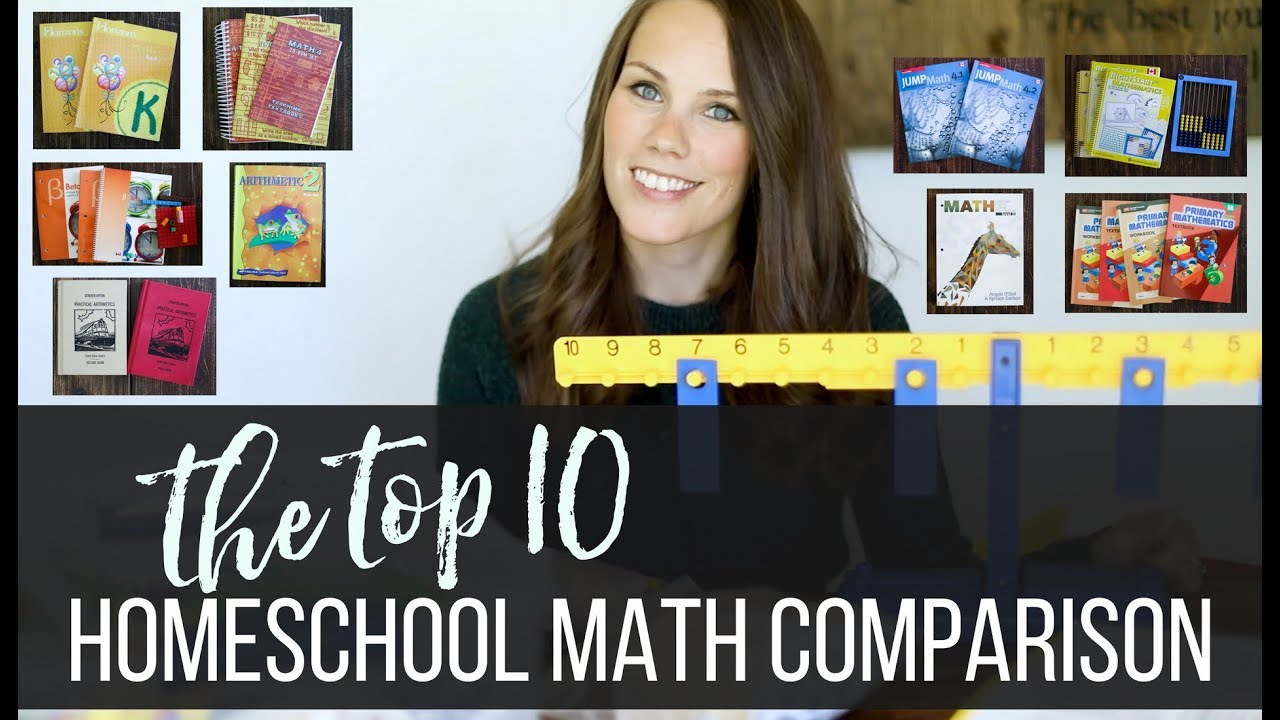 6bccf51c911e0c The Top 10 Homeschool Math Comparison Review - YouTube