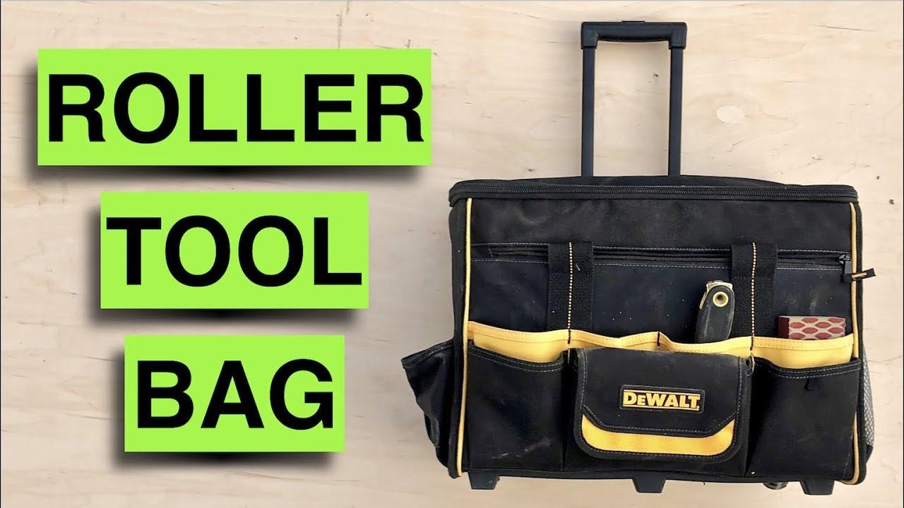 Dewalt Dgl571 Roller Tool Bag Review