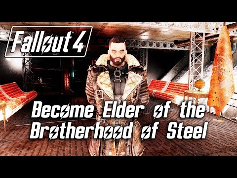 Fallout 4 - Become Elder of the Brotherhood of Steel (Cut Content) *SPOILERS*