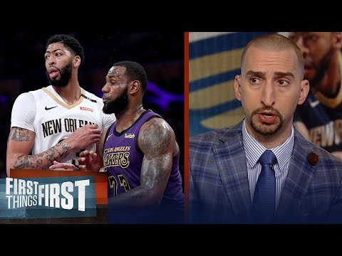 Nick Wright breaks down his proposed Lakers trade for Anthony Davis | NBA | FIRST THINGS FIRST thumbnail