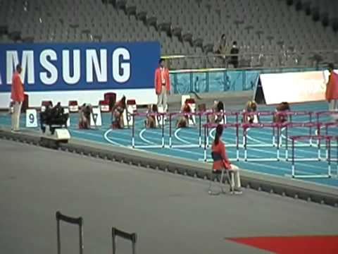 17th Asian Games INCHEON 2014 Women's 100m Hurdles Final