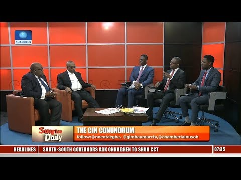 Lawyers Disagree Over Legality Of CJN Onnoghen's Indictment Pt.2 |Sunrise Daily|