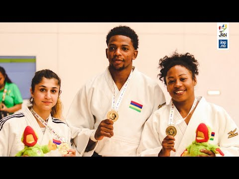 JIOI 2019 - Judo: Maurice démarre sur les chapeaux de roues
