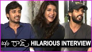 Manchu Lakshmi Funny Interview With Priyadarshi And Adarsh Balakrishna | W/O Ram Interview