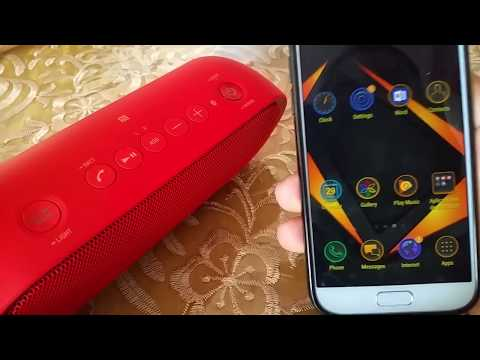 How To Connect Sony SRS-xb20 Using NFC To Samsung Android