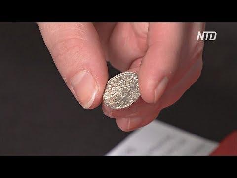 Клад на 6 млн долларов: англичане нашли древние монеты