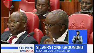 Silverstone  airline has suspended  all flights after KCAA grounded 8 of its aircrafts
