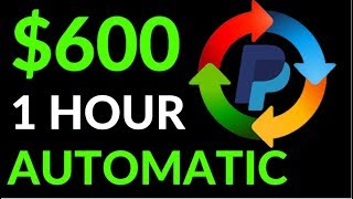Earn $600 in 1 Hour On AUTOPILOT! (Easy Way To Make Money Online)
