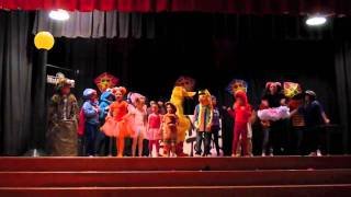"""Sesame Street: Will.i.am's Song """"What I Am"""" - KDM Talent Show"""