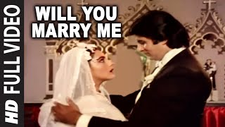 Will You Marry Me Full Song | Mard | Amitabh Bachchan, Amrita Singh