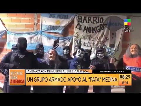 """Un grupo armado apoyó al """"Pata"""" Medina"""