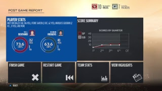 49ers Vs. Packer Live Monday Night Madden 18 EaSports football