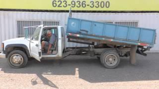 1994 Chevrolet 3500 Dump Truck at Public Auction