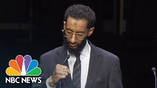 Rapper Nipsey Hussle's Brother Eulogizes Him | NBC News