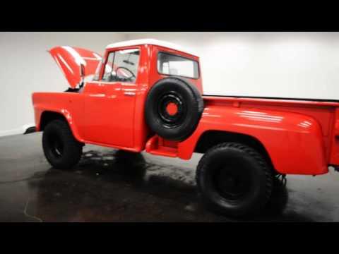 1958 International A120 4x4 Pickup