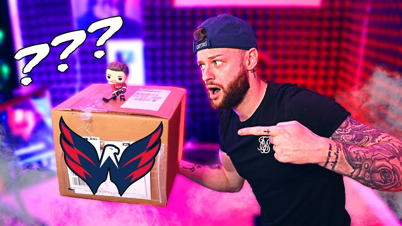 UNBOXING A WASHINGTON CAPS MYSTERY BOX!  ||  Ovenchicken is here!!