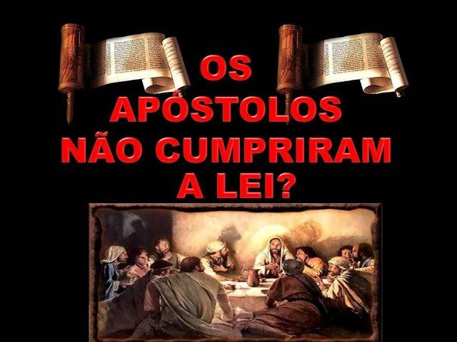 O APÓSTOLO PAULO NÃO CUMPRIU A LEI?