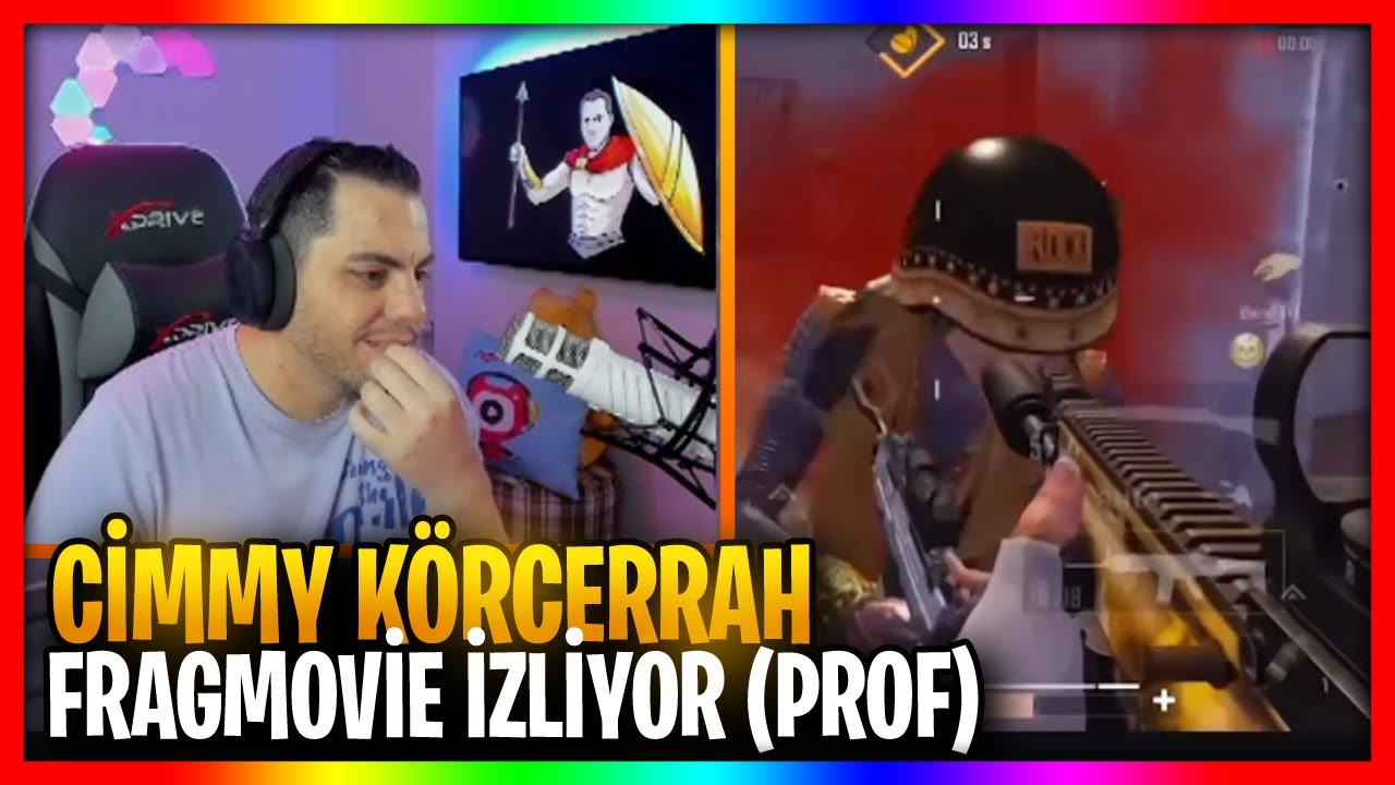 CİMMY TV | CİMMY KÖRCERRAH FRAGMOVİE İZLİYOR (PROF)
