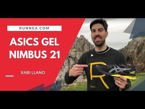 Asics GEL Nimbus 21 Review en 1 minuto en español