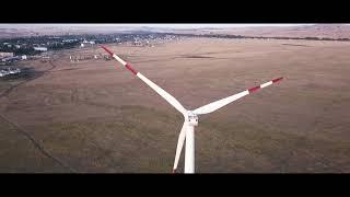 Ветряные электростанции Ерейментау / Видео