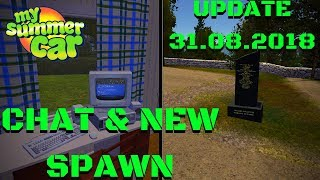 NEW SPAWN LOCATION - CHAT WITH PLAYERS - My Summer Car Update #114