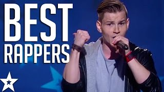 Video TOP 5 BEST RAPPERS on Got Talent From Across The World! | Got Talent Global download MP3, 3GP, MP4, WEBM, AVI, FLV Juni 2018