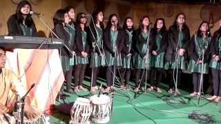 Dhwani :the Indian Music Society of LSR performing raaga Bheempalasi at National School of Drama,