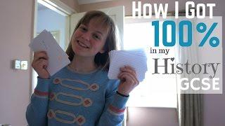 History Study Tips || How I got 100% A* at GCSE