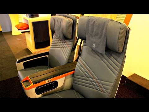 Singapore Airlines Premium Economy Class Preview