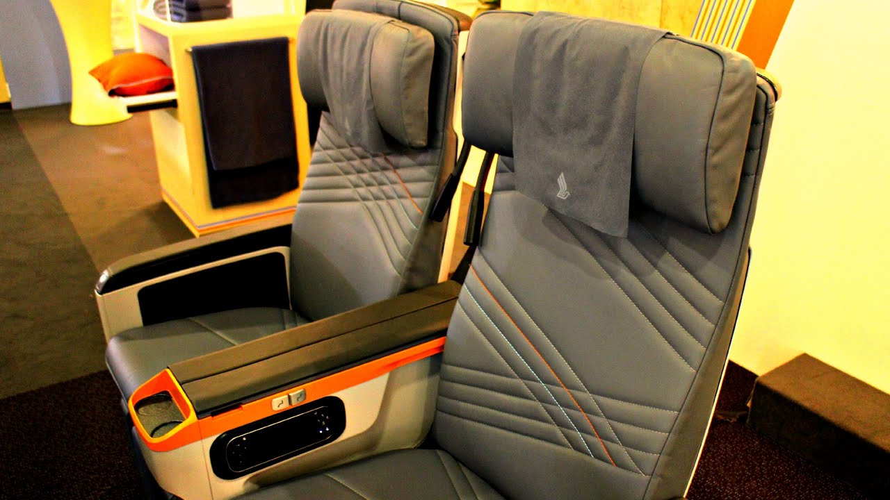 Singapore Airlines Premium Economy Class Preview - YouTube