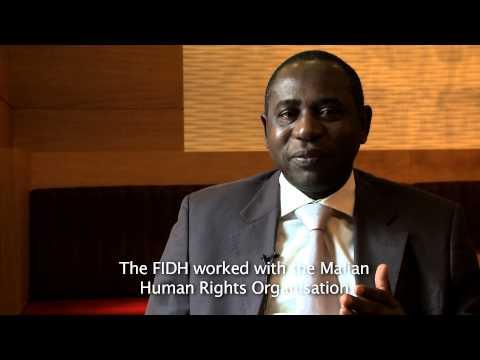 Sekou Konaré, 3rd Secretary for Legal and Judicial Affairs of AMDH, FIDH member organisation in Mali