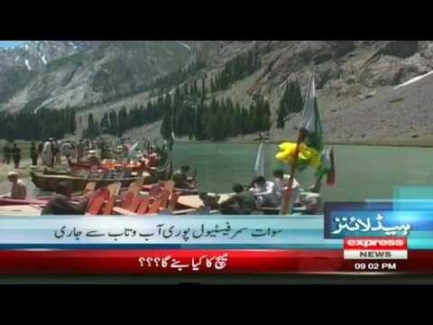 swat summer festival in kalam swat valley pakistan