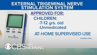 ADHD treatment device for children approved by FDA