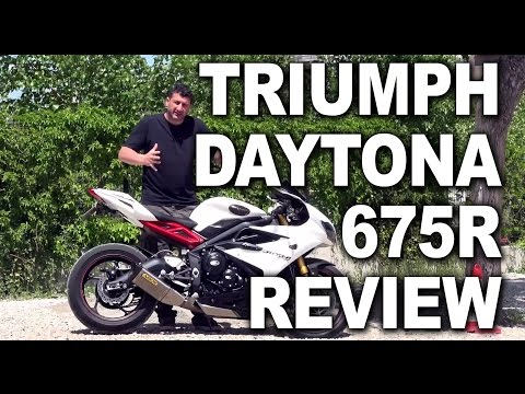 Triumph Daytona R Review
