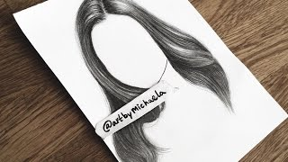 """TUTORIAL: How to draw """"realistic"""" hair"""