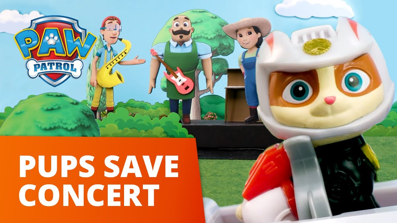 Download PAW Patrol Moto Pups - Pups Save The Concert - Toy Episode - PAW Patrol Official & Friends