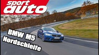 Gambar cover BMW M5 (F90) Nordschleife 7.38,92 min Hot Lap sport auto