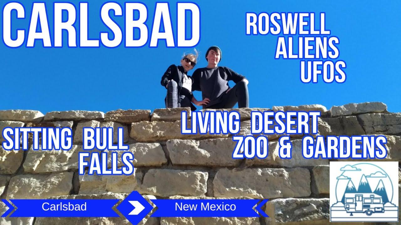 OTPWR Carlsbad - Sitting Bull Falls - Living Desert Zoo - Roswell UFOs - Full Time RV Family Living