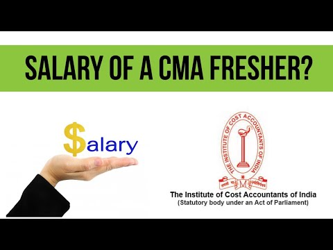 What Is The Salary Of A CMA Fresher | Cost Accountant Salary