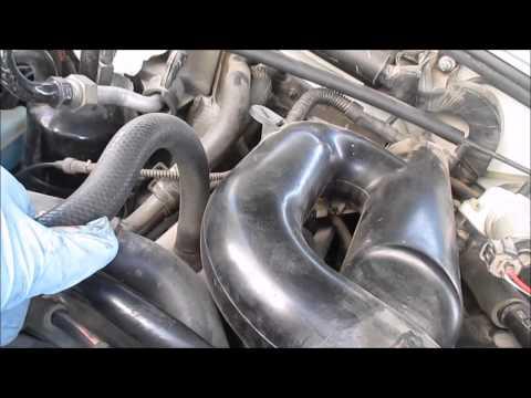 Ford Explorer 4 0L SOHC Rough Idle Part 2 Vacuum Leak