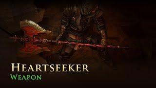 Path of Exile: Heartseeker Weapon