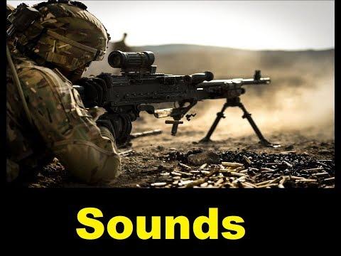 Machine Gun  Sound Effects All Sounds