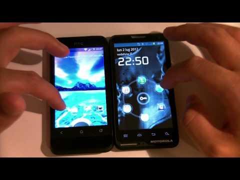 HTC One V VS Motorola Motoluxe by Flabbertech