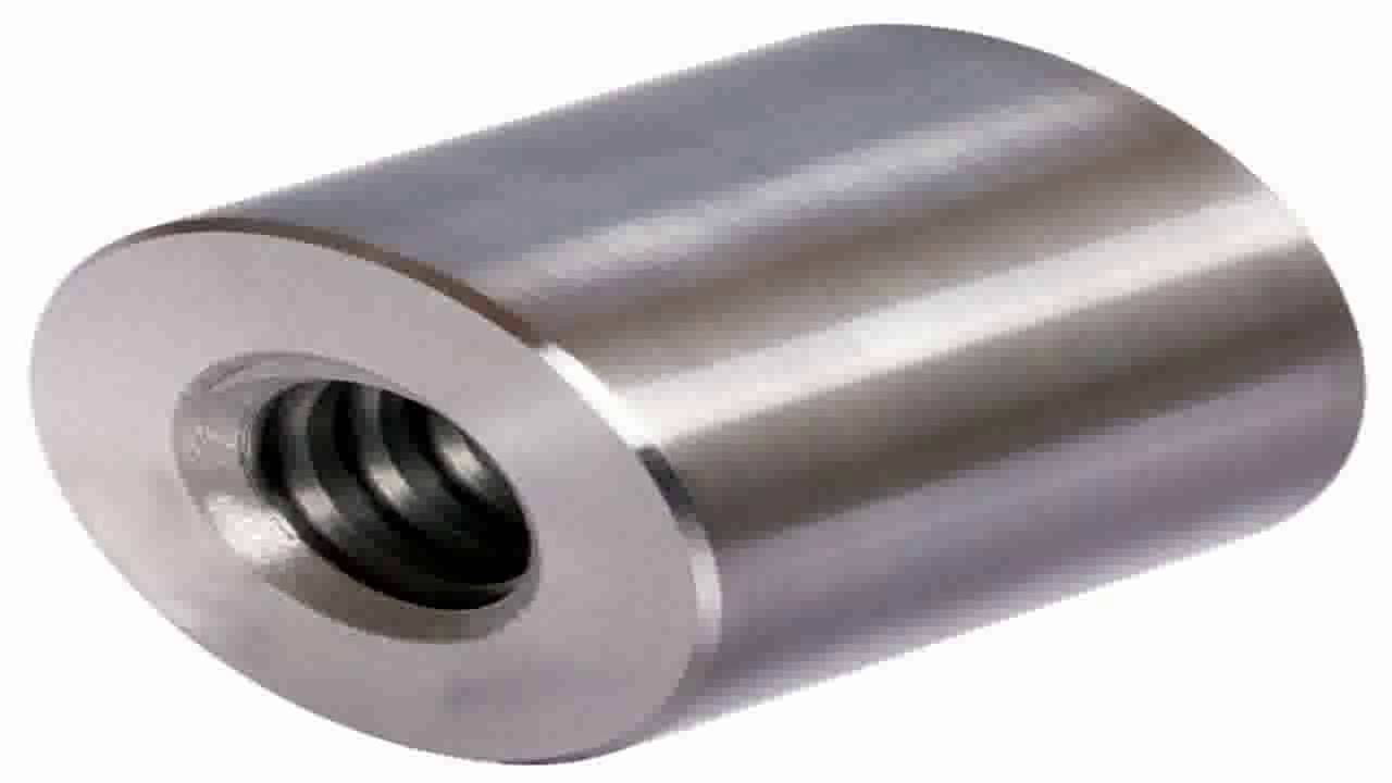 outer diameter=45mm Round trapezoidal leadscrew nut stainless 1.4305 Tr.20x4 single start right length=30mm