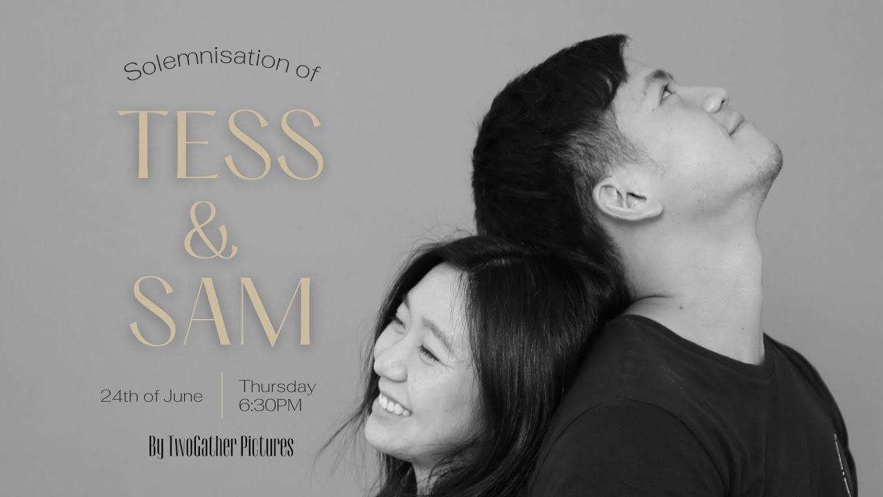 Solemnisation of Tess & Sam