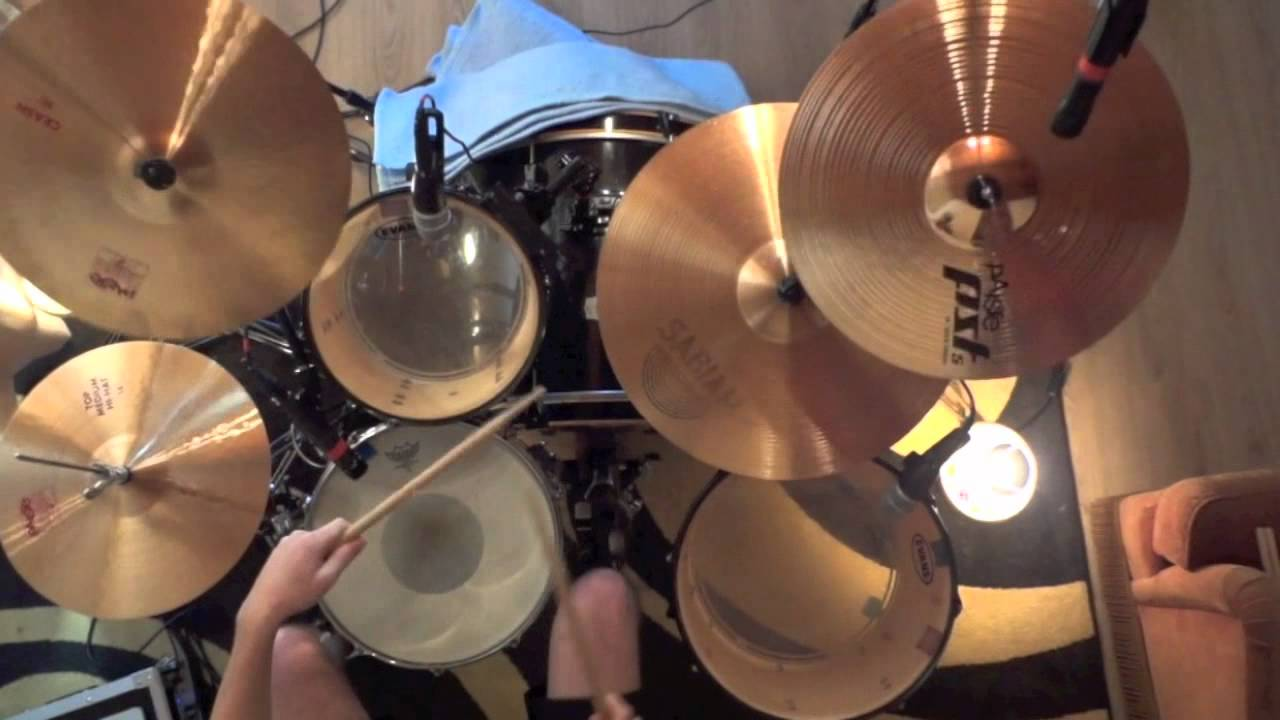 how to play highway to hell on drums