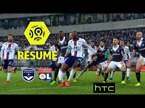 Girondins de Bordeaux - Olympique Lyonnais (1-1)  - Résumé - (GdB - OL) / 2016-17