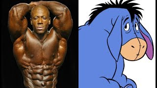 Phil Heath says Shawn Rhoden looks like Eeyore at Olympia Press Conference